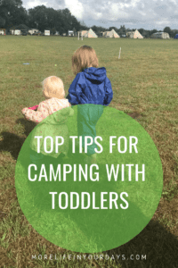 camping with toddlers checklist
