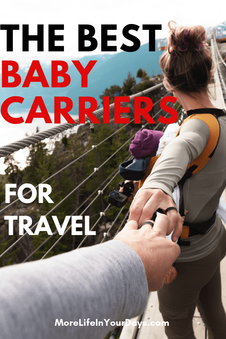 Going somewhere hot? Doing some hiking? Have a toddler? We help you find the right baby carrier for YOU. #baby #babygear #babycarrier #familytravel #toddlercarrier