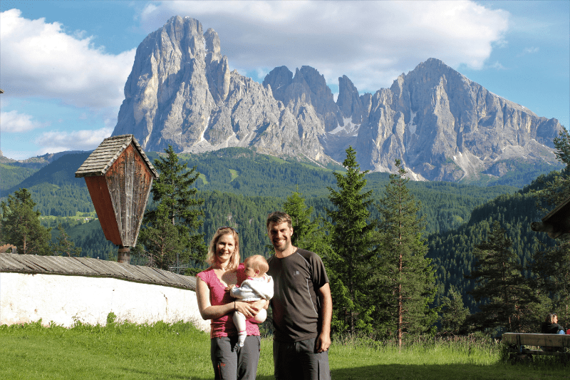Italy with a baby: Dolomites