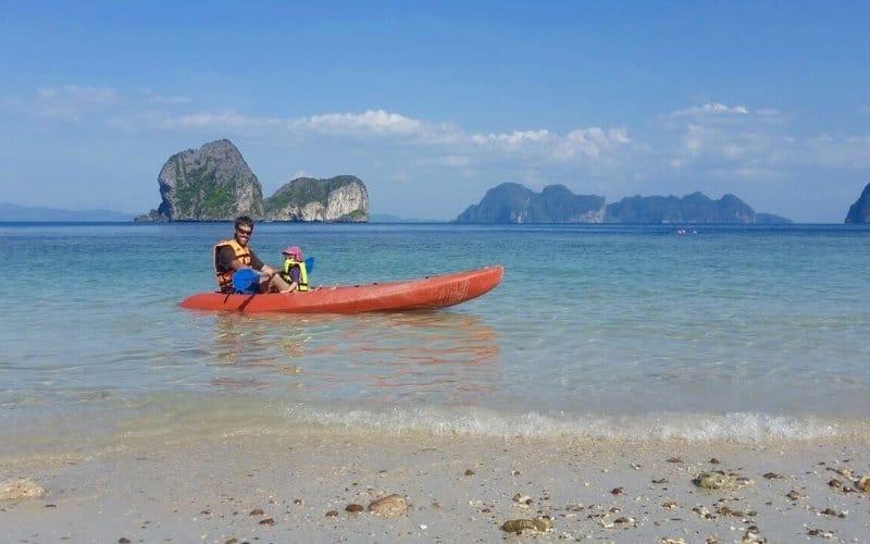 Koh Ngai Kayaking