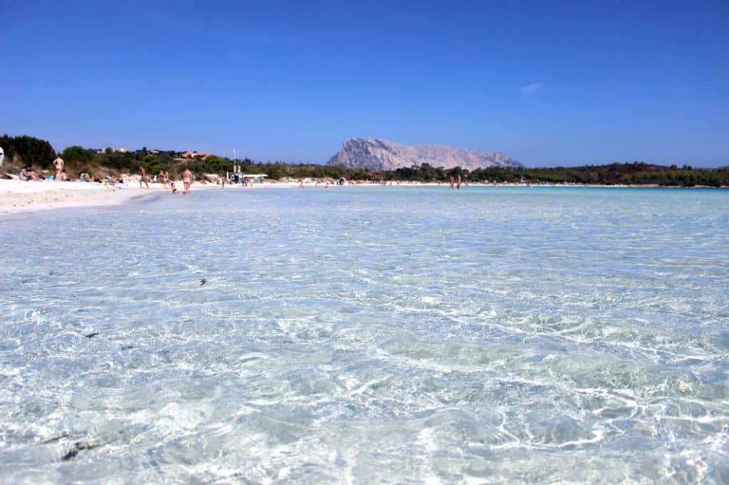 Image of Cala Brandinchi one of the best beaches in Sardinia