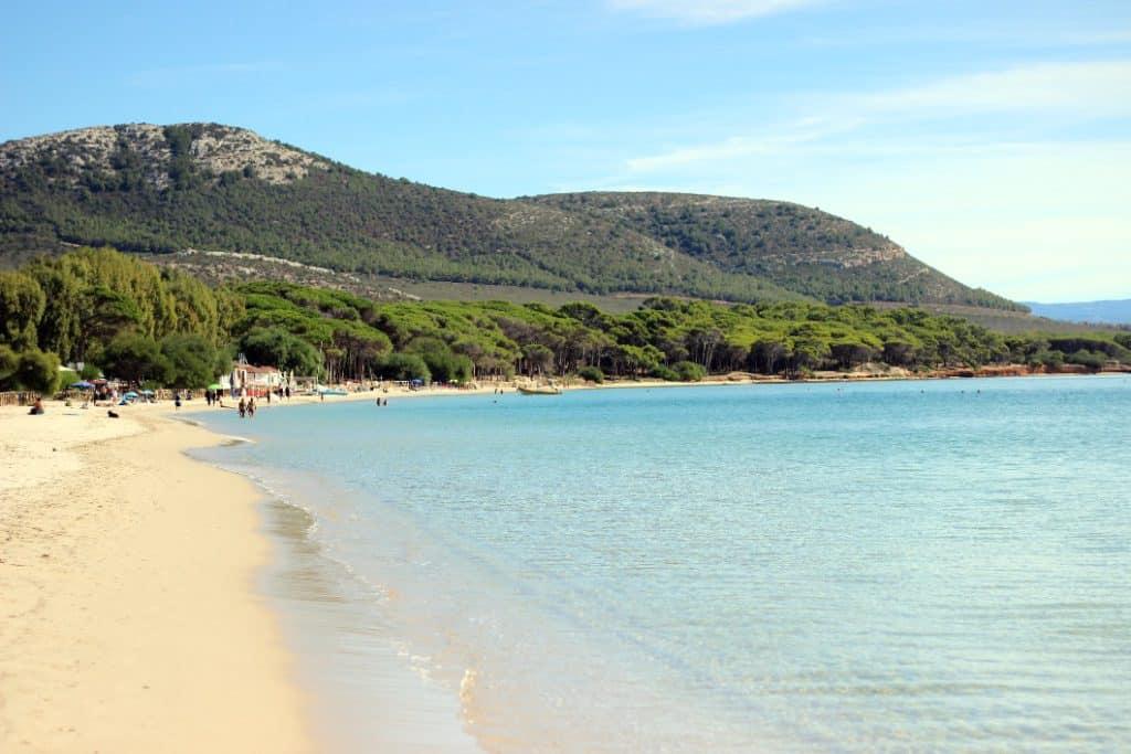 Image of Mugoni Beachi one of the best beaches in Sardinia