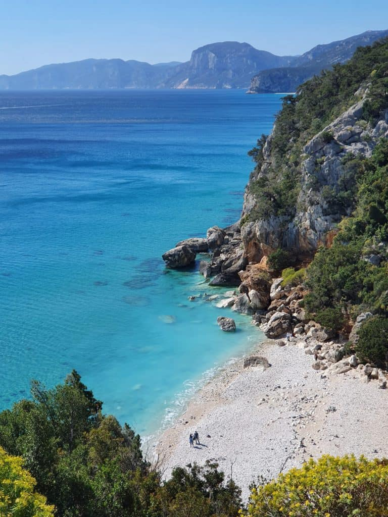 Image of Cala Fuili one of the best beaches in Sardinia