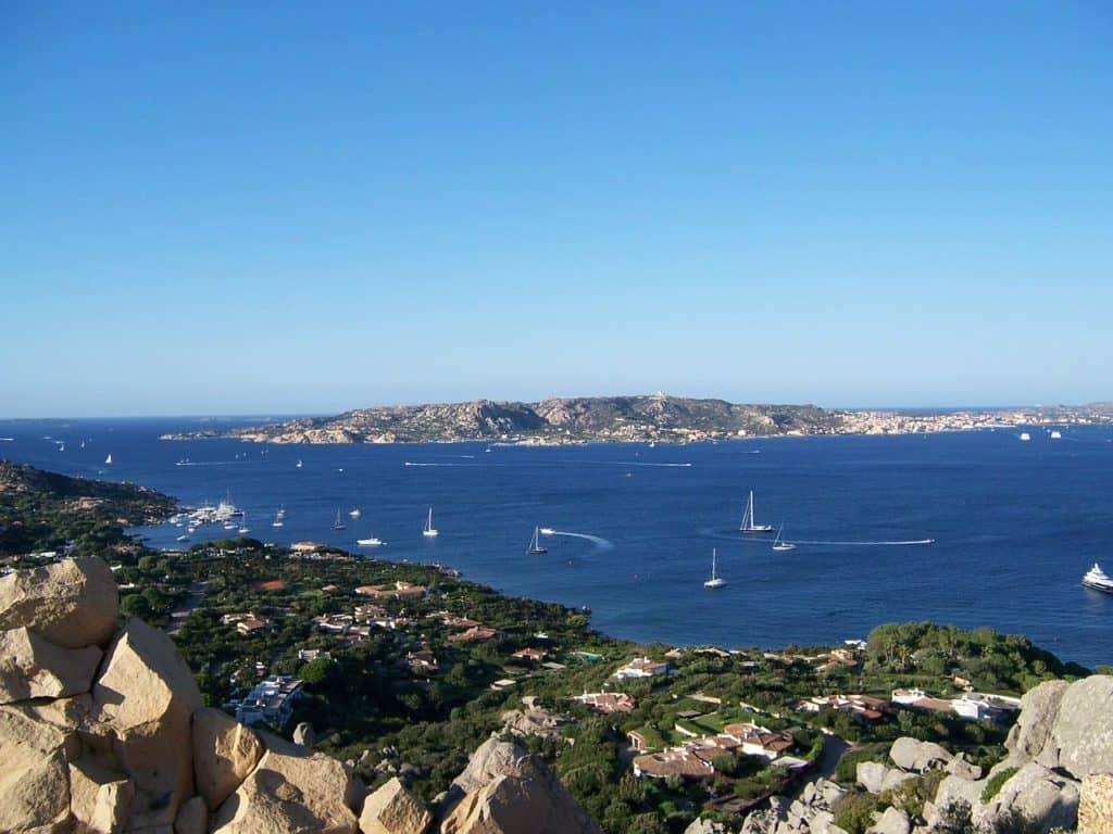 Where to go in Sardinia: View across the sea at La Maddalena