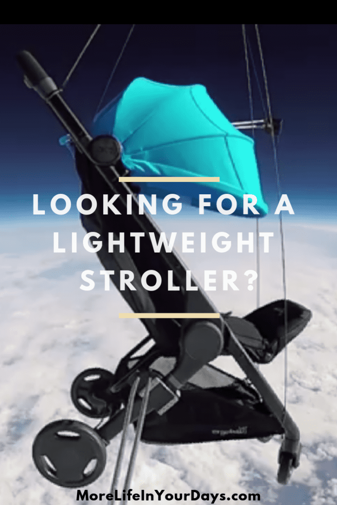 Check out the Ergobaby Metro Stroller. The perfect lightweight, compact stroller for flying. #babygear #stroller #familytravel #lightweightstroller