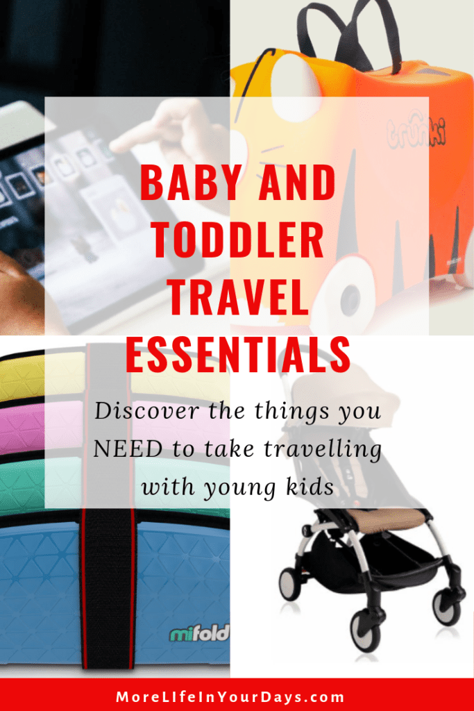 Baby and Toddler Travel Gear