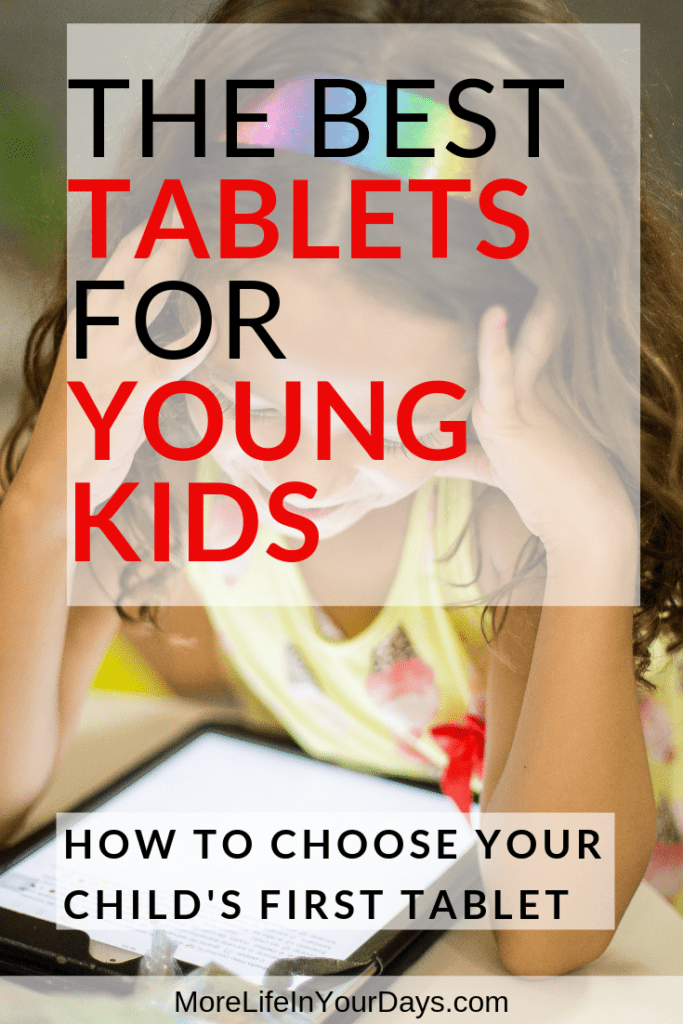 Best Tablets for Toddlers Pin