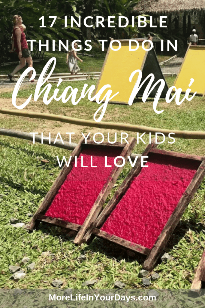 Chiang Mai with Kids Poo Poo Paper