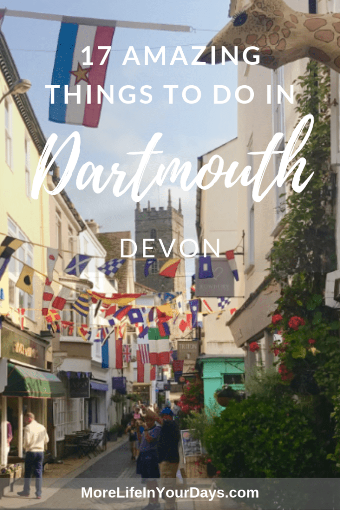 Things to do in Dartmouth Devon