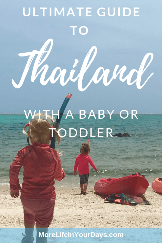 Thailand with a baby and toddler