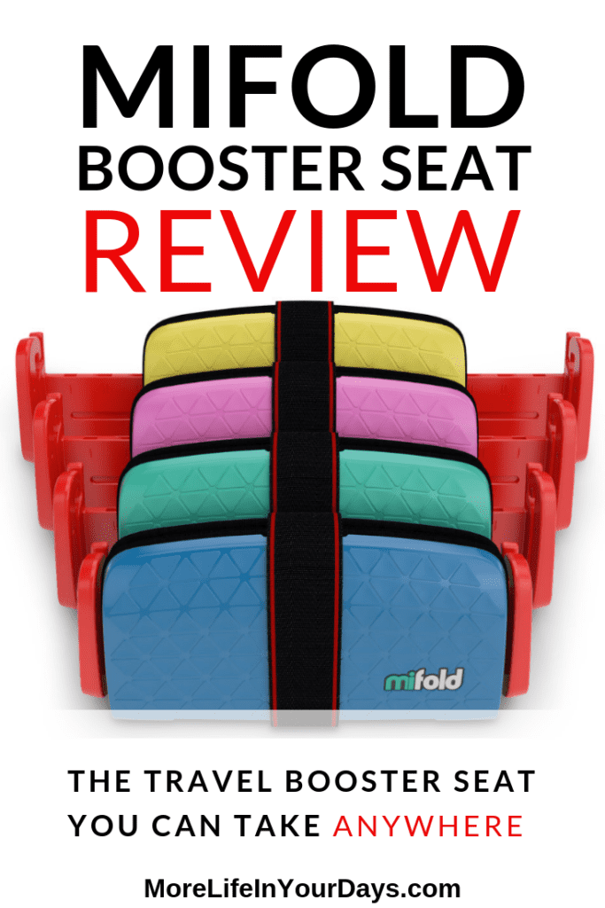 Mifold review image of 4 booster seats