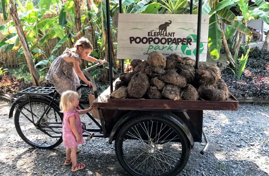 Chiang Mai with Kids - Poo Poo Paper Park