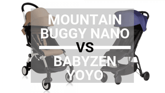 Mountain Buggy Nano vs Babyzen Yoyo+