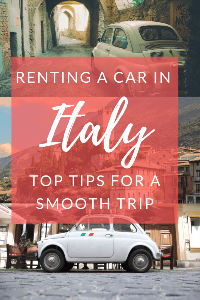 Tips for renting a car in Italy: fiat 500