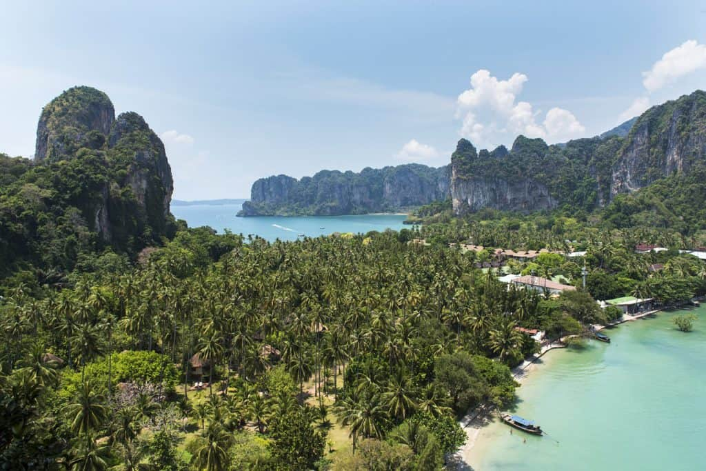 Krabi Itinerary: Railay Beach