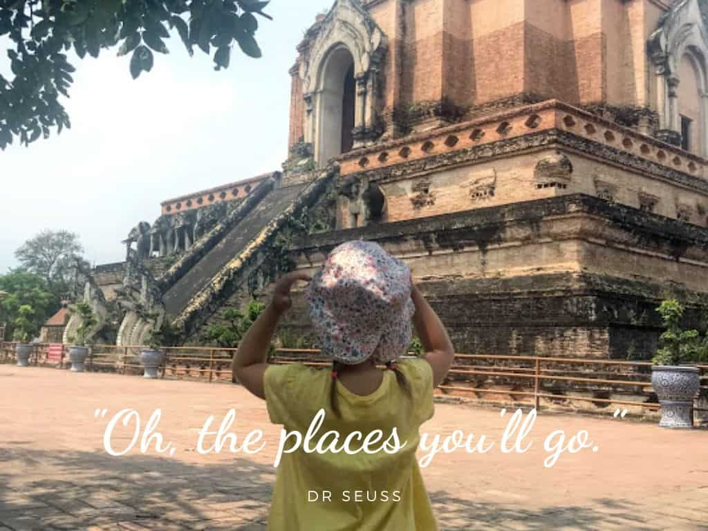 Best Family travel quotes: oh the places you'll go