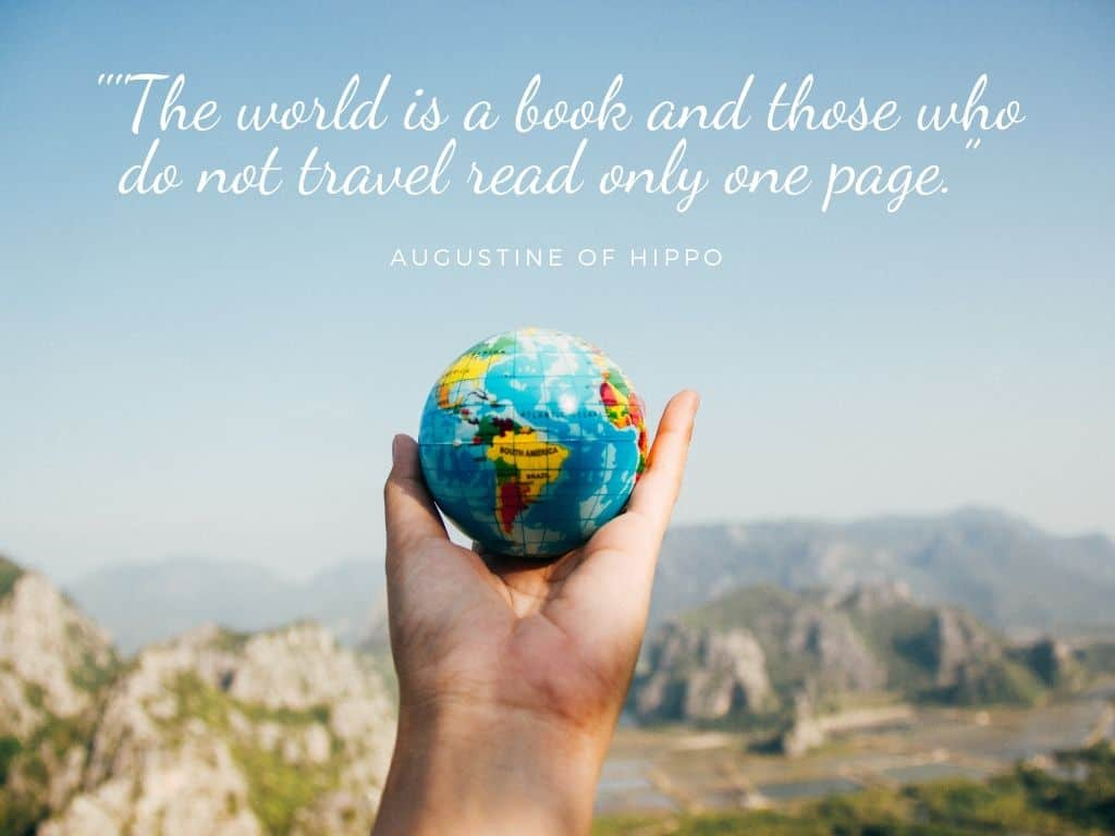 Best Family travel quotes: the world is a book