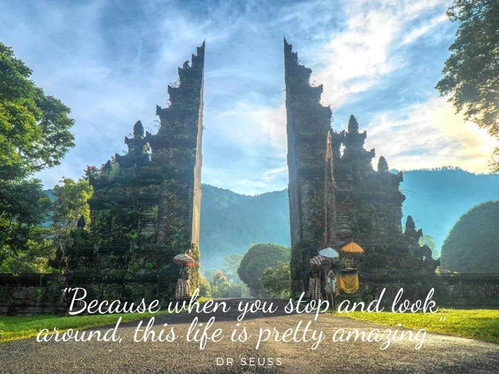 Best Family travel quotes: stop and look around