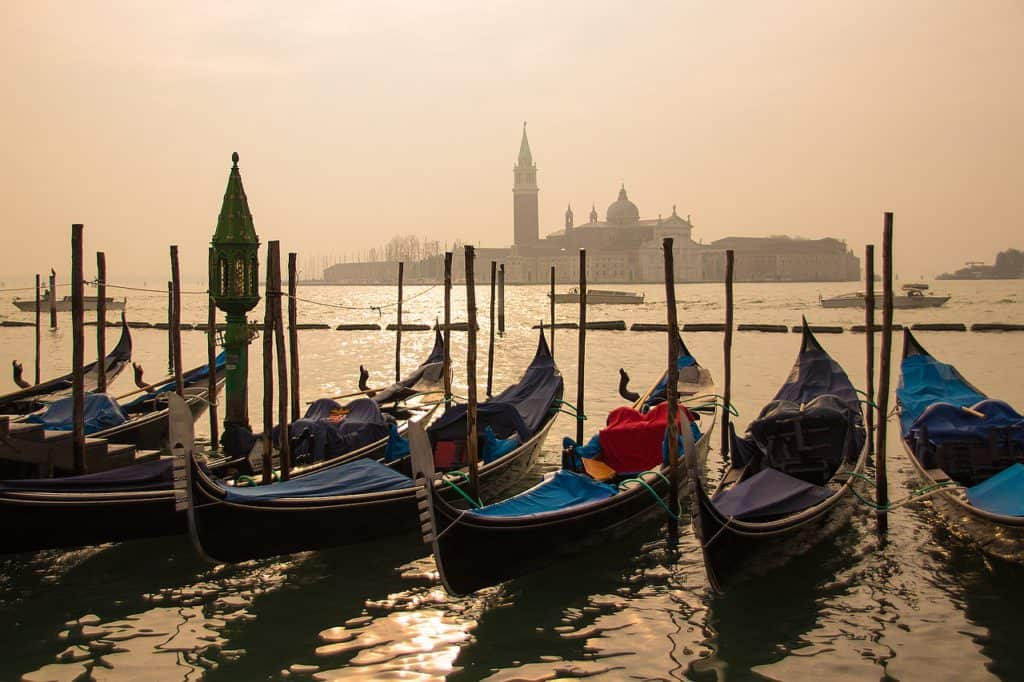 view across the water to San Giorgio Maggiore. How many days in Venice is enough?