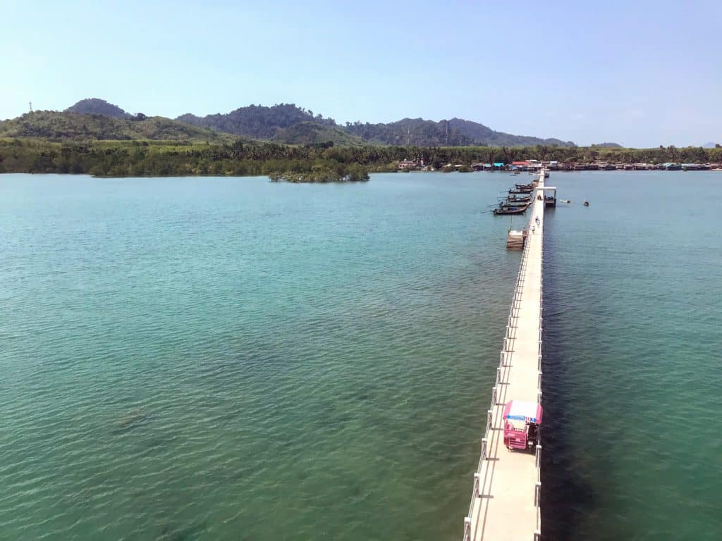 View from the top of the Dugong lookout on Koh Libong