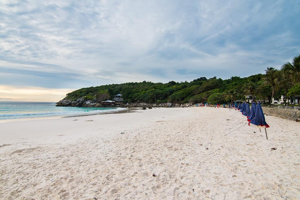 View of the beach in Koh Racha