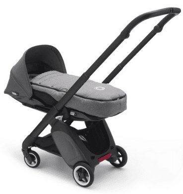 Bugaboo Ant Review - Shown in grey wih infant cocoon