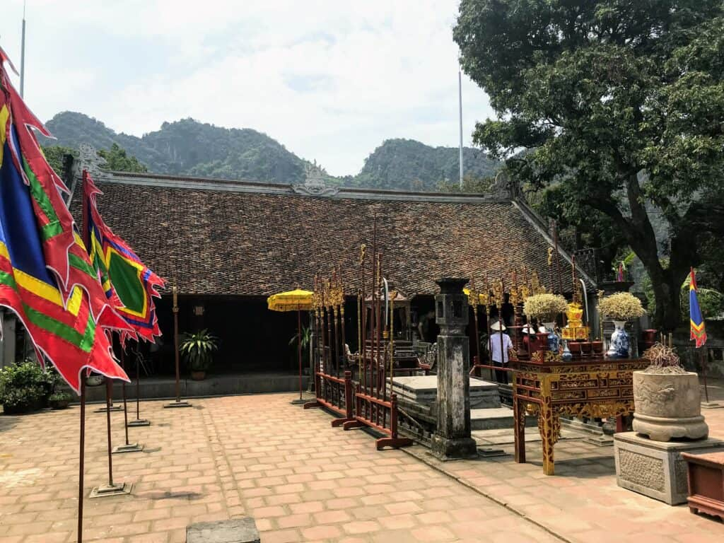 Hoa Lu Temple on th e10 day Vietnam Itinerary