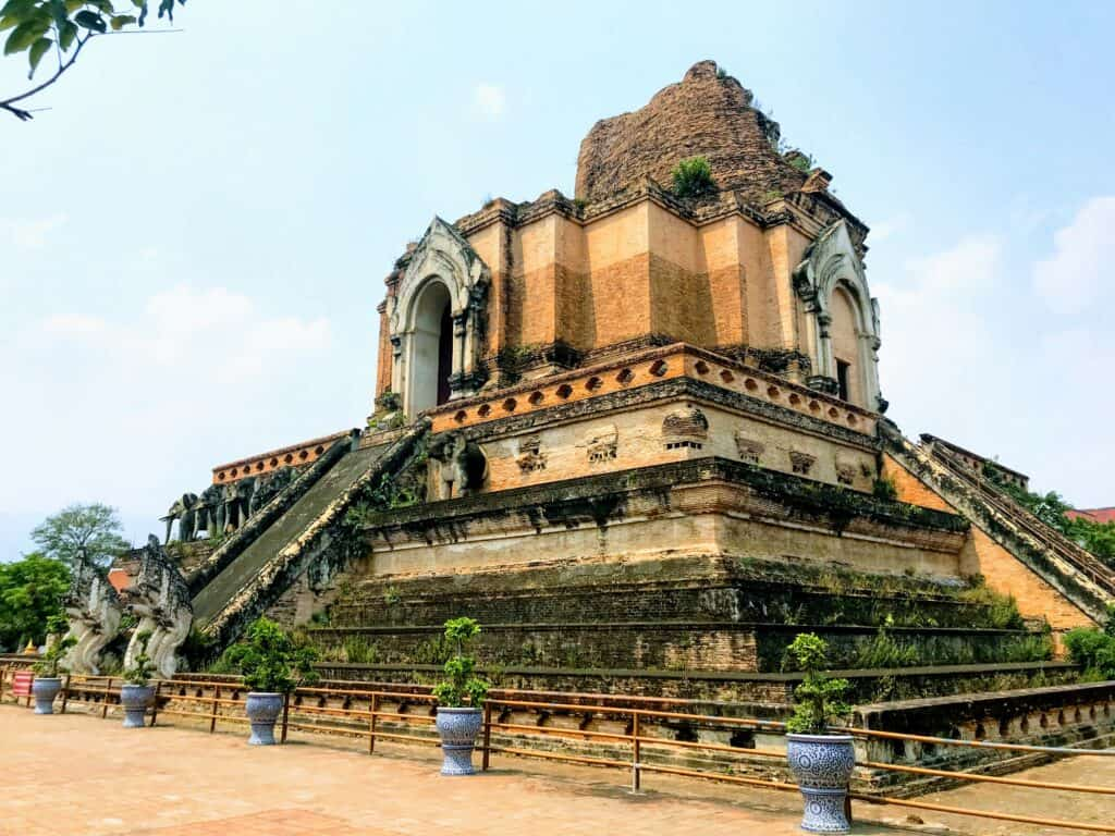 Wat Chedi Luang - Best Time to go to Chiang Mai